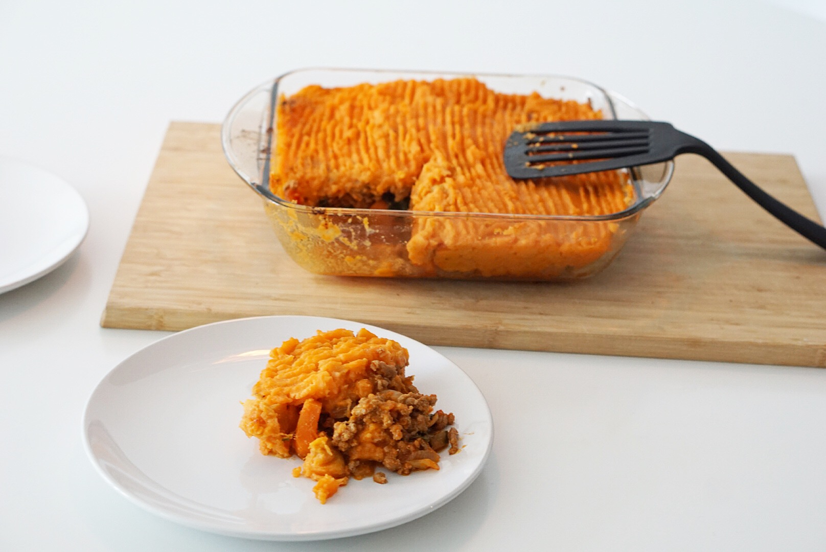 Sweet Potato Turkey Shepherd's Pie | I Hart Nutrition